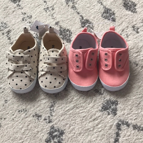 Old Navy Other - NWT Set of Old Navy Baby Girl Shoes